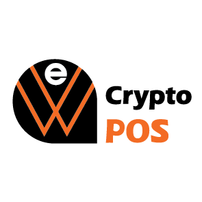 we greece crypto POS logo