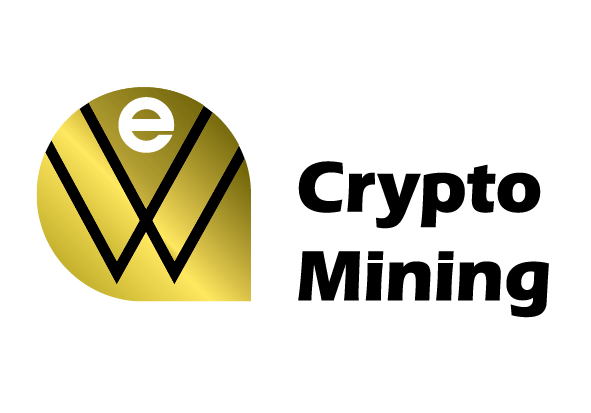 we greece crypto mining logo