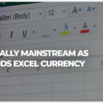 BTC as a choice of coins to EXCEL of Microsoft